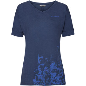 VAUDE Skomer V-Neck Shirt Women sailor blue